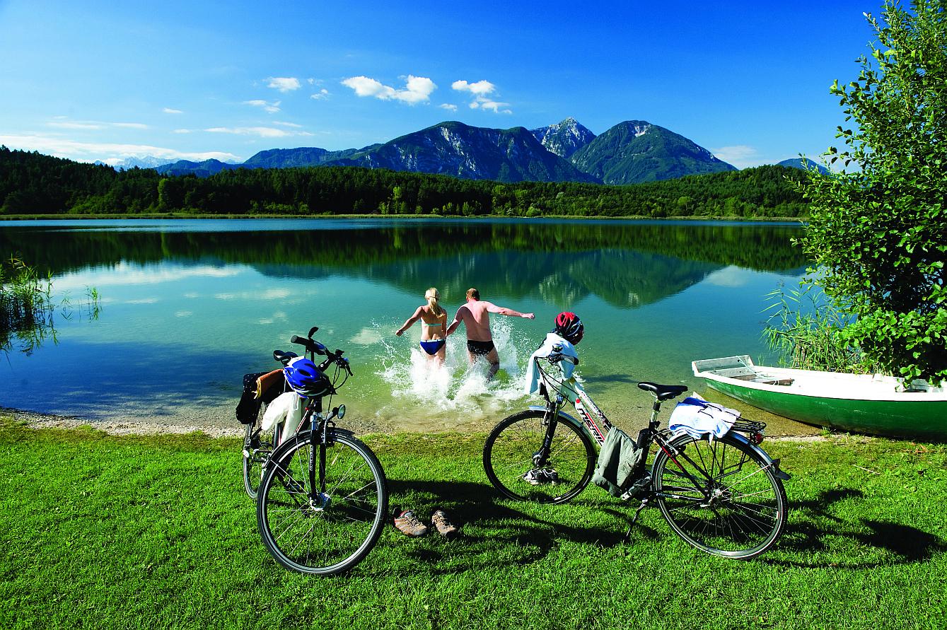 Drávská cyklostezka, Foto Zupanc - Kärnten Werbung