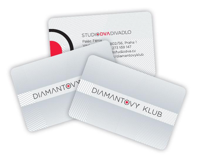 VIP karta Diamantový klub STUDIO DVA Foto: STUDIO DVA, oficiální zdroj