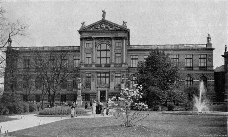 Muzeum hlavního města Prahy na počátku 20. stol. Foto: Unknown - Commors Wikimedia