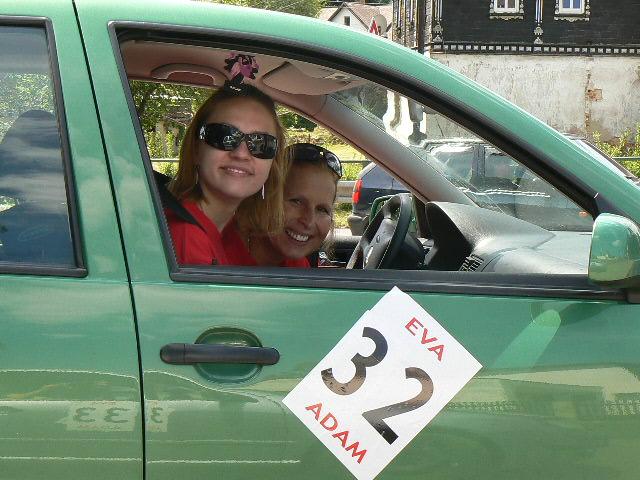 Rallye Eva a Adam Foto: AMKZ Praha, oficiální zdroj
