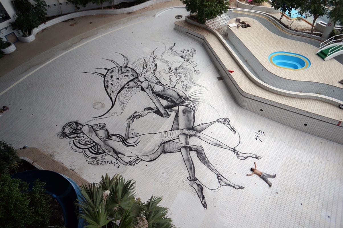 Výstava graffiti Za zdí