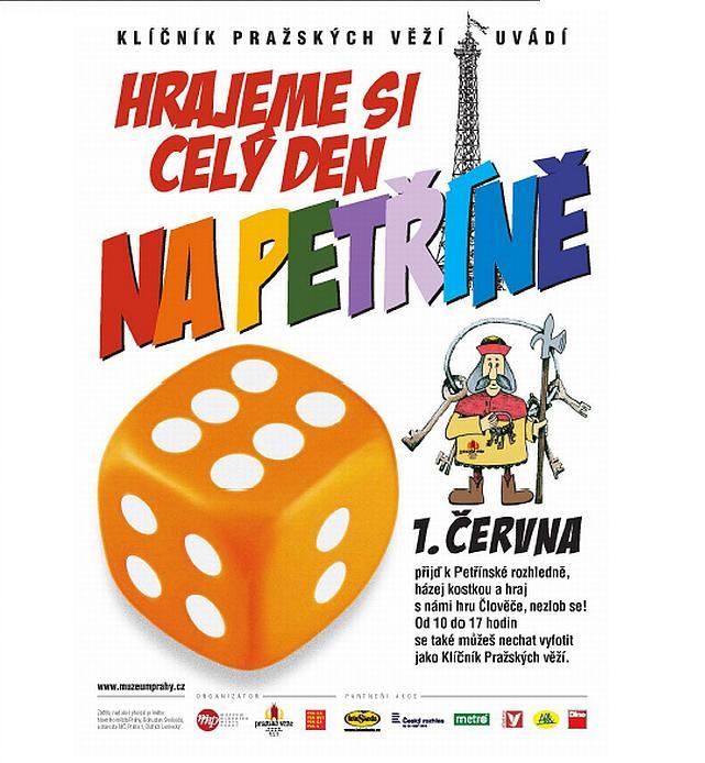 Hrajeme si celý den na Petříně, oficiální zdroj MHMP