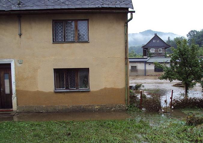Rozvodněná Svitávka Foto: Zákupák, Wikimedia Commons