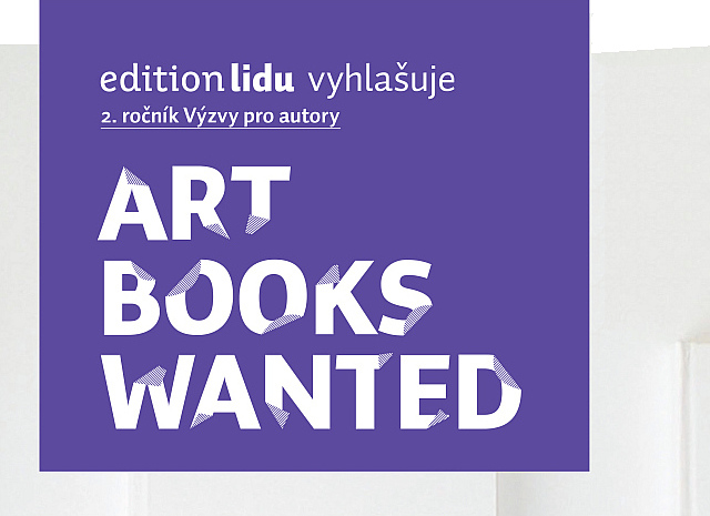 ART BOOKS WANTED International Award 2013 Oficiální zdroj: edition lidu