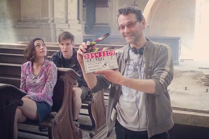 Režisér Radim Špaček natáčí nový film Místa Foto: Bionaut Films, oficiální zdroj