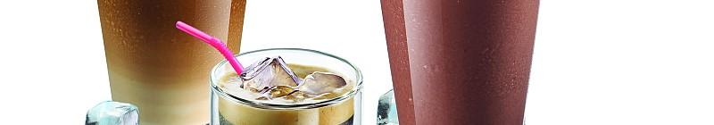 Ledové nápoje připravené automatickým kávovarem Tassimo Foto: BSH, oficiální zdroj