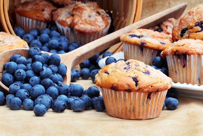 borůvkové muffiny Foto: Agrimex, oficiální zdroj
