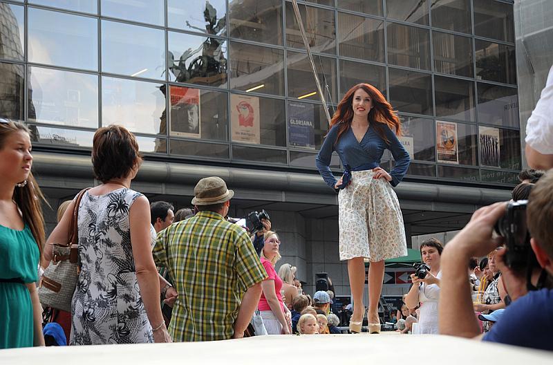 Dyzajn márket - módní přehlídka Foto: Blanka Rosecká, Dyzajn márket, oficiální zdroj
