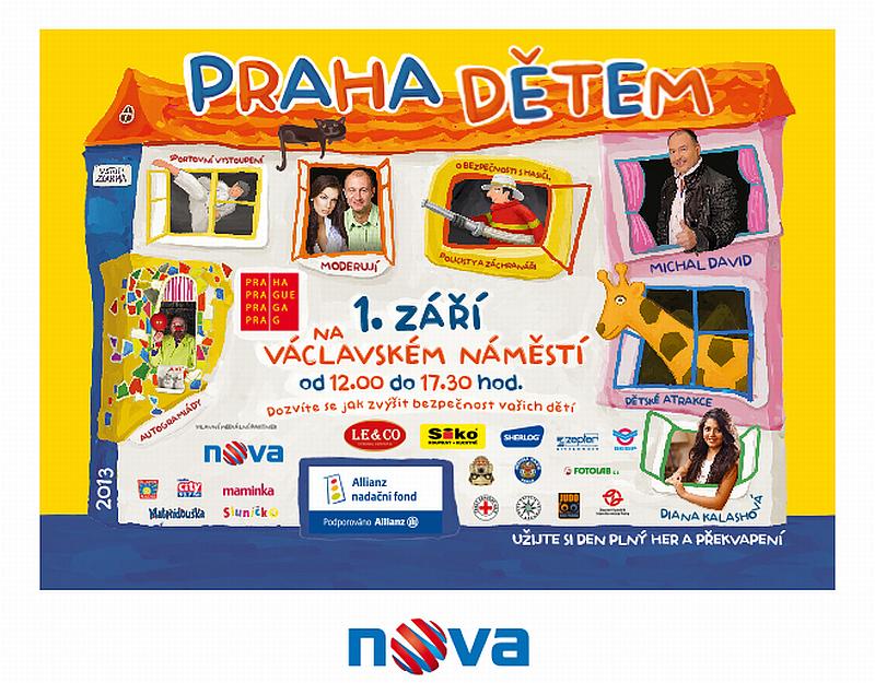 3. ročník bezpečnostní, kulturní a charitativní akce Praha dětem 2013 Oficiální zdroj: Bezpečnost dětí.eu