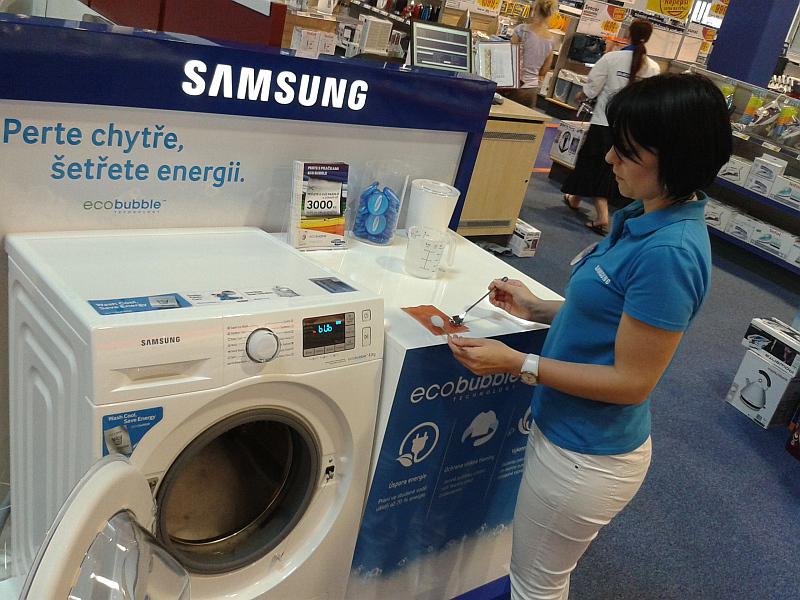 Promo akce Samsung EcoBubble Foto: Samsung, oficiální zdroj