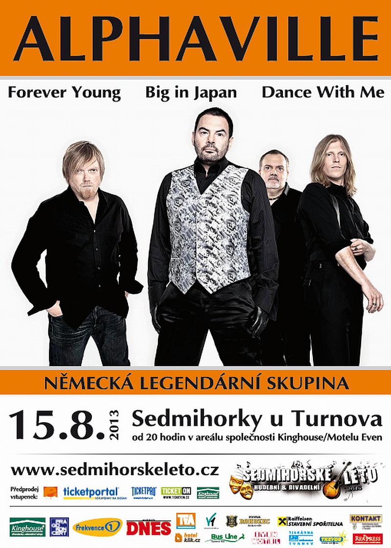 Festival Sedmihorské léto - legendární německá skupinya Alphaville Zdroj: Sedmihorské léto