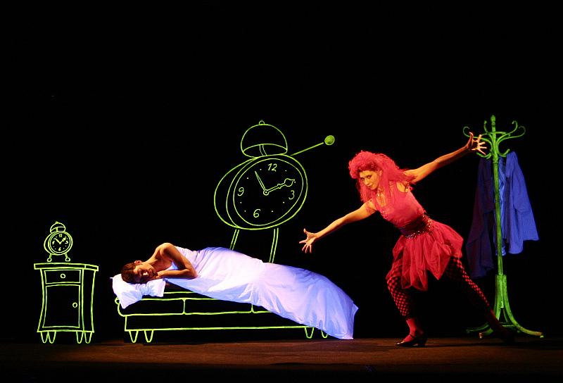 Soutěž o voucher na představení Life is Life Černého divadla Metro Foto: Jan Sequens, divadlo Metro, oficiální zdroj