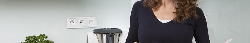 Markéta Hrubešová vaří i doma v Thermomixu Foto: Thermomix, oficiální zdroj