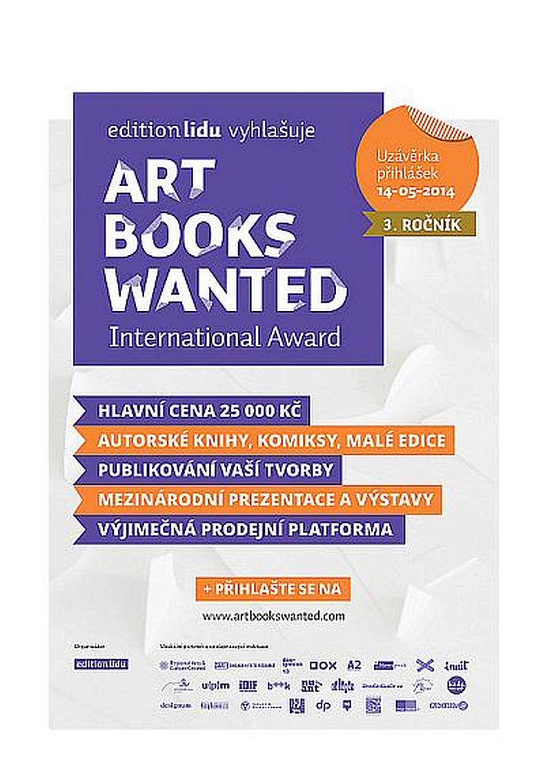 Mezinárodní soutěž ART BOOKS WANTED International Award Oficiální zdroj: EDITION LIDU