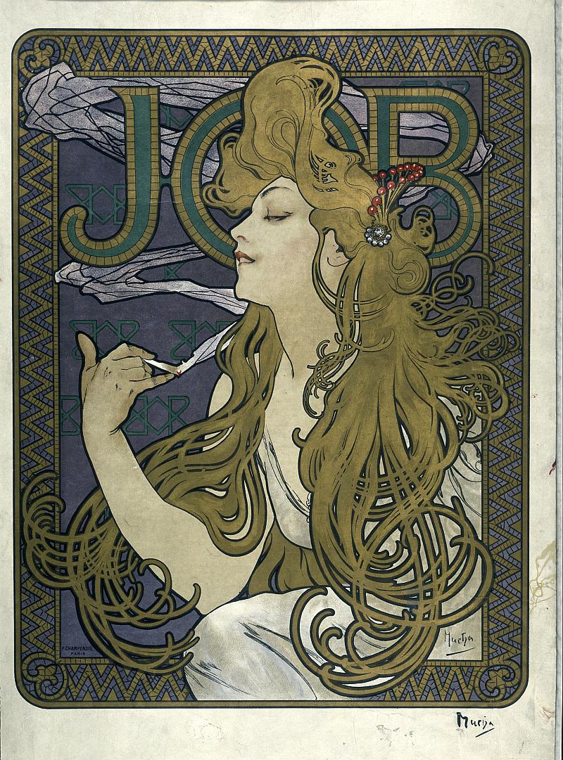 Alfons Mucha (1860–1939) Job, 1896, Foto: UPM, oficiální zdroj