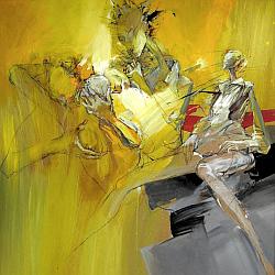 Vánoce v ArtForum, Zděněk Netopil - Lesbická trumpeta Foto: ArtForum, oficiální zdroj