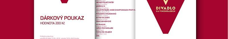 Divadlo na Vinohradech - dárkový poukaz Foto: Divadlo na Vinohradech, oficiální zdroj