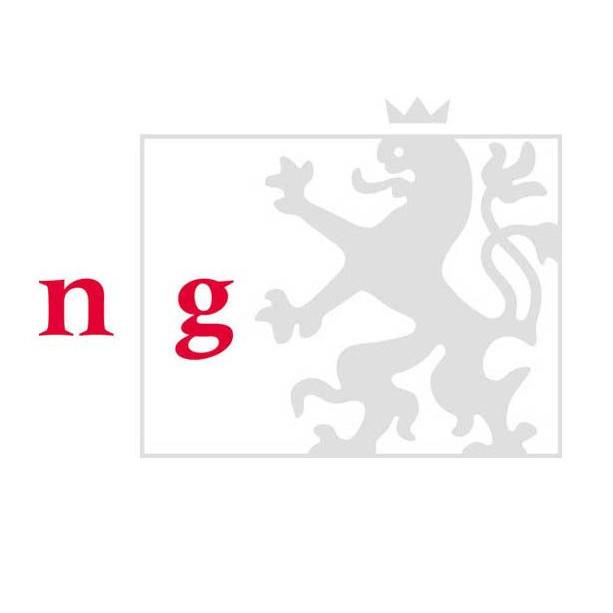 Logo Národní galerie v Praze Oficiální zdroj: NG