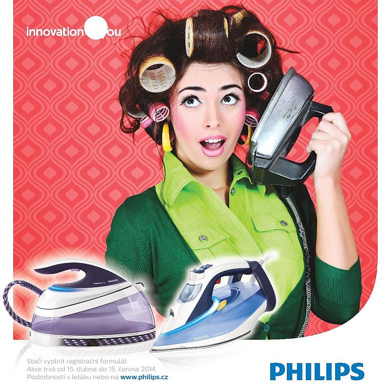 """promo akce společnosti Philips """"Přišel čas na změnu"""" Oficiální zdroj: Philips"""