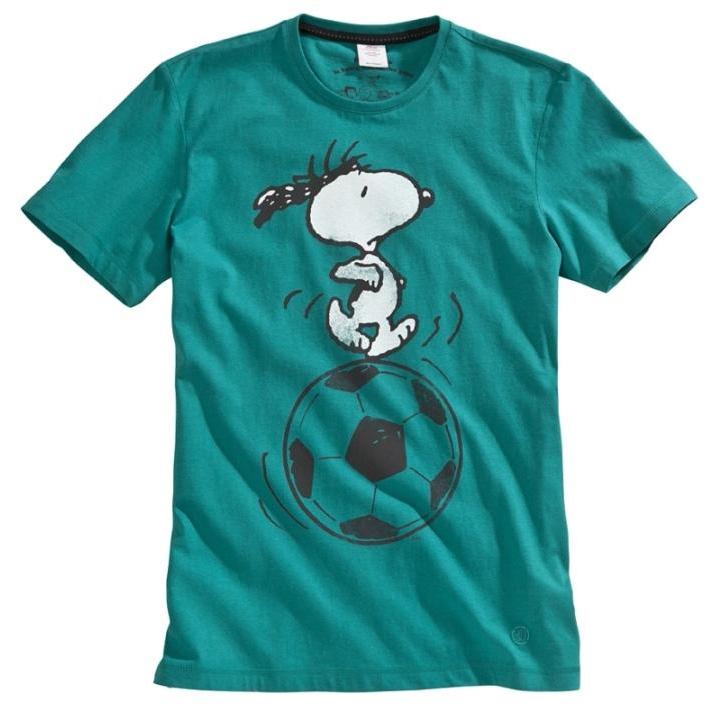 s.Oliver Casual tričko Snoopy Foto: s.Oliver, oficiální zdroj