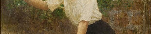 2. aukce Dorothea v roce 2014, (dosažená cena 2 640 000 Kč) Vlaho Bukovac, V máji (vyvolávací cena 1 000 000 Kč) Foto: archiv Dorotheum, oficiální zdroj