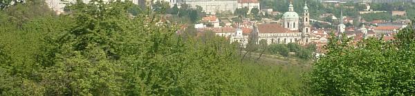Pohled z Petřína na Hradčany Foto: (c)Zuzana Ottová
