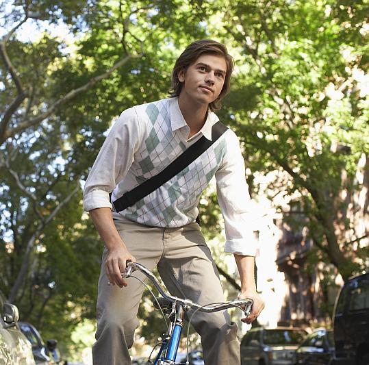 Cyklista Foto: Zahrady nad Rokytkou II, oficiální zdroj