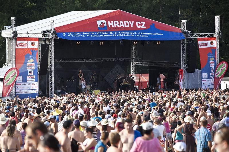 Atmosféra festivalu Hrady CZ Foto: Hrady CZ, oficiální zdroj