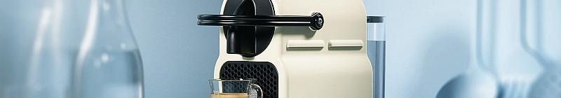 Nespresso Inissia ve vanilkovém provedení Foto: Nespresso, oficiální zdroj