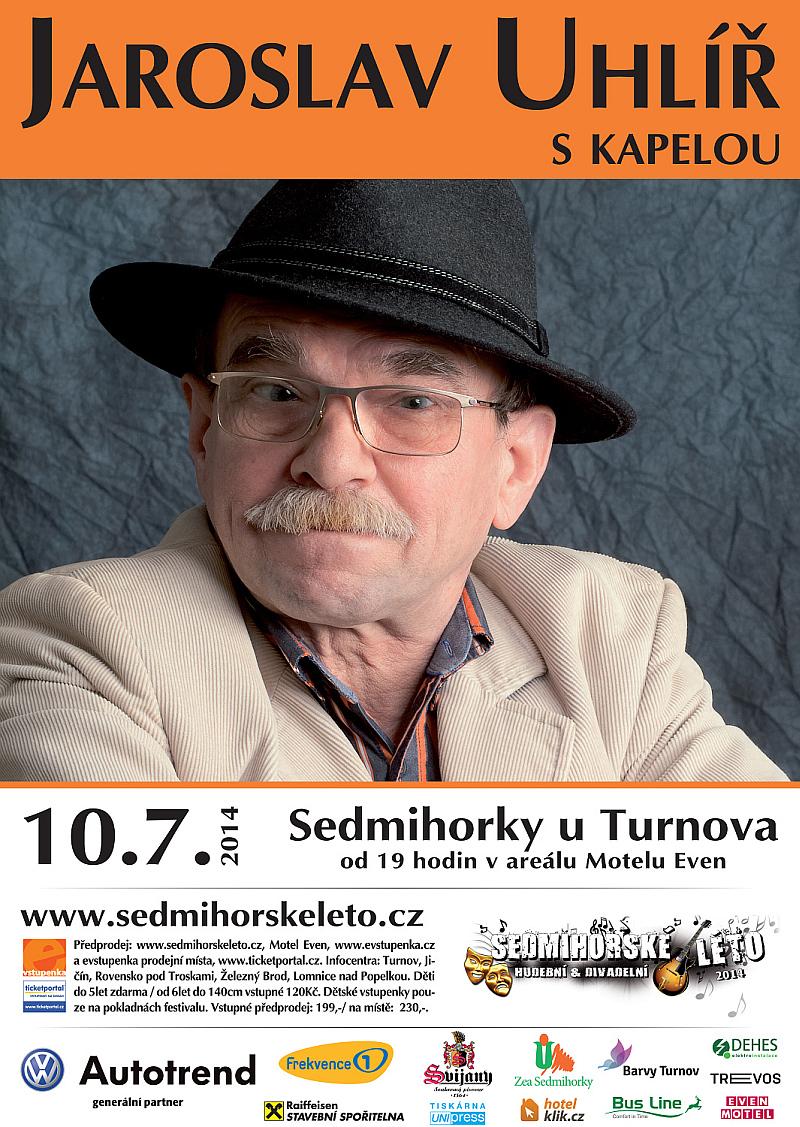 Na festivalu Sedmihorské léto vystoupí i Jaroslav Uhlíř Oficiální zdroj: Sedmihorské léto