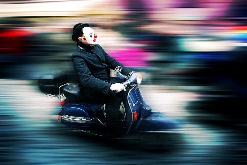 """Vítězná fotografie loňského 5. ročníku s názvem """"Joker"""", jejíž autorem je František Tůma Oficiální zdroj: Nikon"""