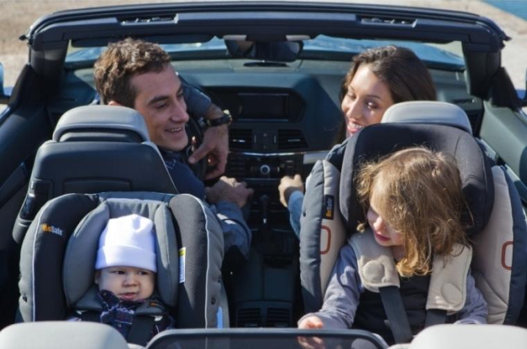 Autosedacky BeSafe, v nichž dětí sedí zády ke směru jízdy Foto: Babypoint, oficiální zdroj
