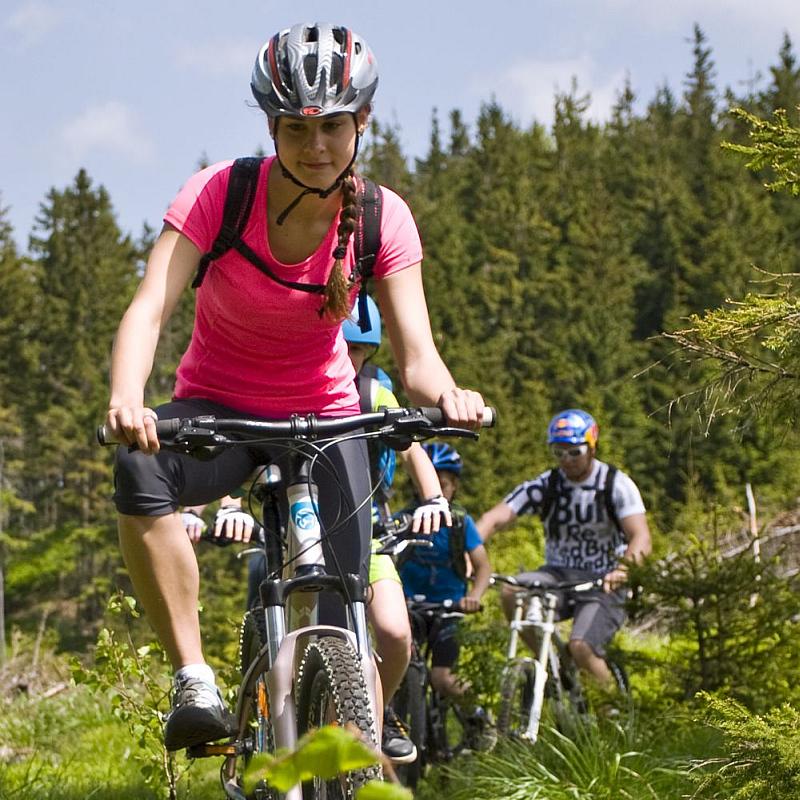 Single trails v relax & sport resortu Dolní Morava Foto: Dolní Morava, oficiální zdroj