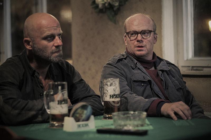 Díra u Hanušovic - Hynek Čermák a David Novotný jako bratři Laďa a Balin Foto: Evolution Films, oficiální zdroj