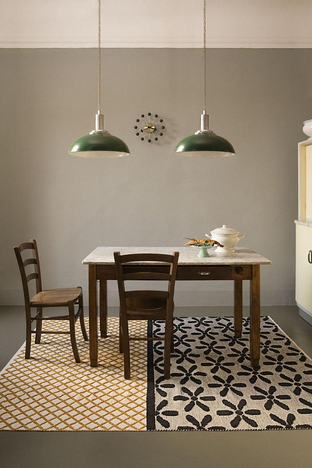DOUBLEFACE FLEUR, výrobce Karpeta, vlna a bavlna, 200 x 300cm, Foto:CSKarlin, oficiální zdroj