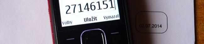 reklamace po telefonu