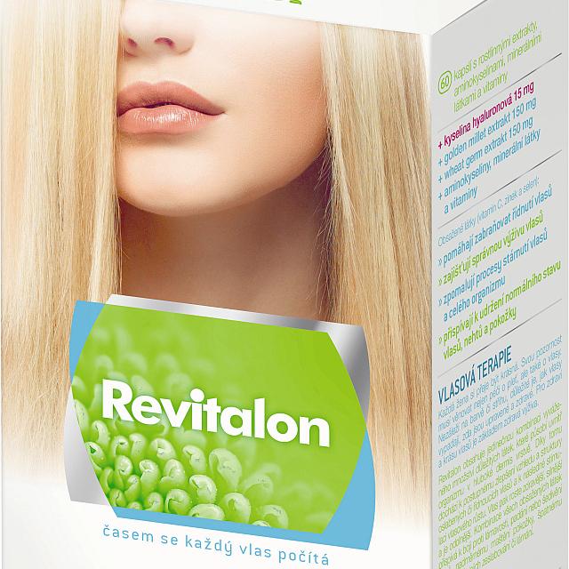 Revitalon - balení 60 kapslí Foto: Vitar, oficiální zdroj