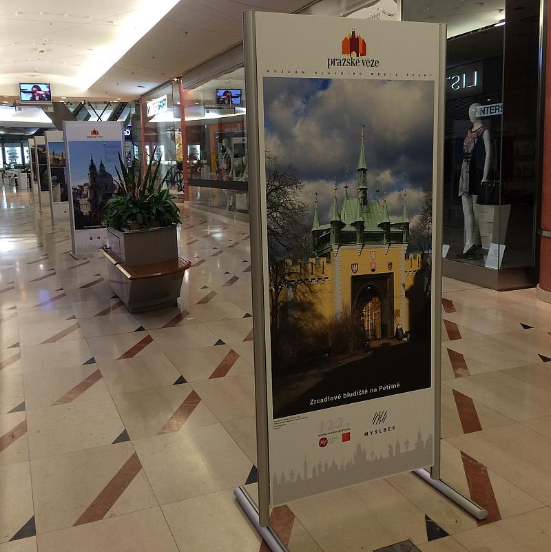 Výstava Pražské věže v NG Myslbek Foto: NG Myslbek, oficiální zdroj
