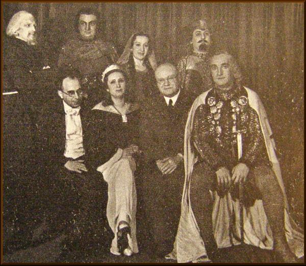 Archivní fotografie z olomoucké premiéry opery Alfréd Foto: Dvořákova Praha, oficiální zdroj