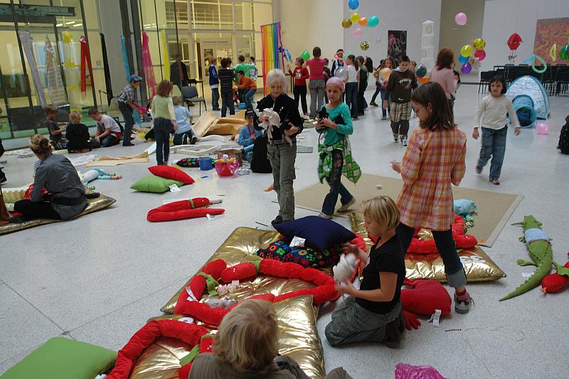 Den dyslexie - Veletržní palác se promění v jeden velký kreativní prostor Foto: DYS, oficiální zdroj