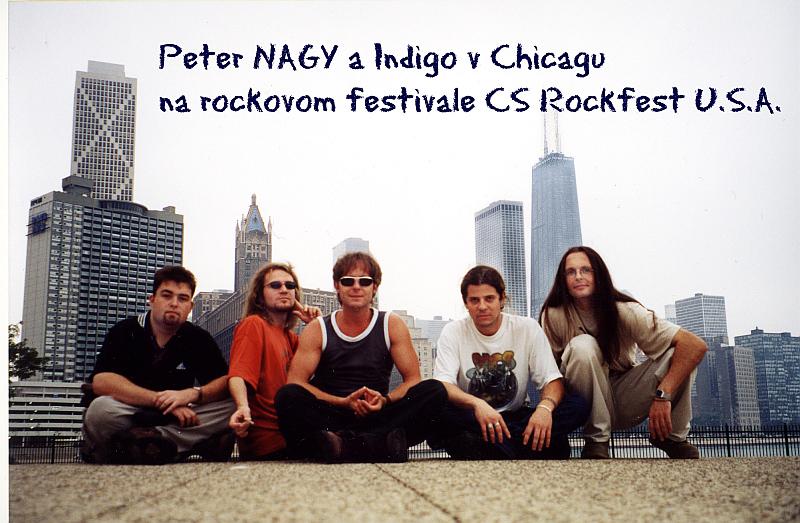 Peter Nagy a Indigo v Chicagu Foto: Kloboukfilm, oficiální zdroj