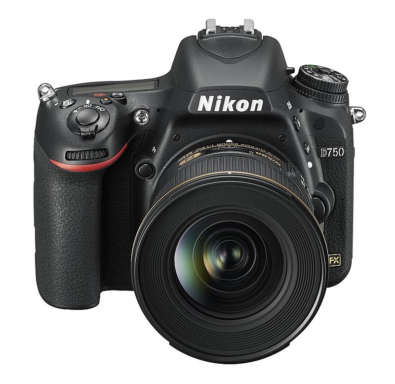 Fotoaparát D750 značky Nikon Foto: Nikon, oficiální zdroj