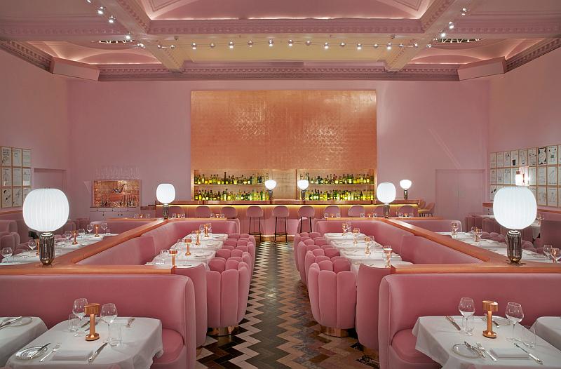 Podzimní dovolená s gastro zážitky vás zavede například do londýnské restaurace Sketch plné kontrastů Foto: Exclusive Tours, oficiální zdroj