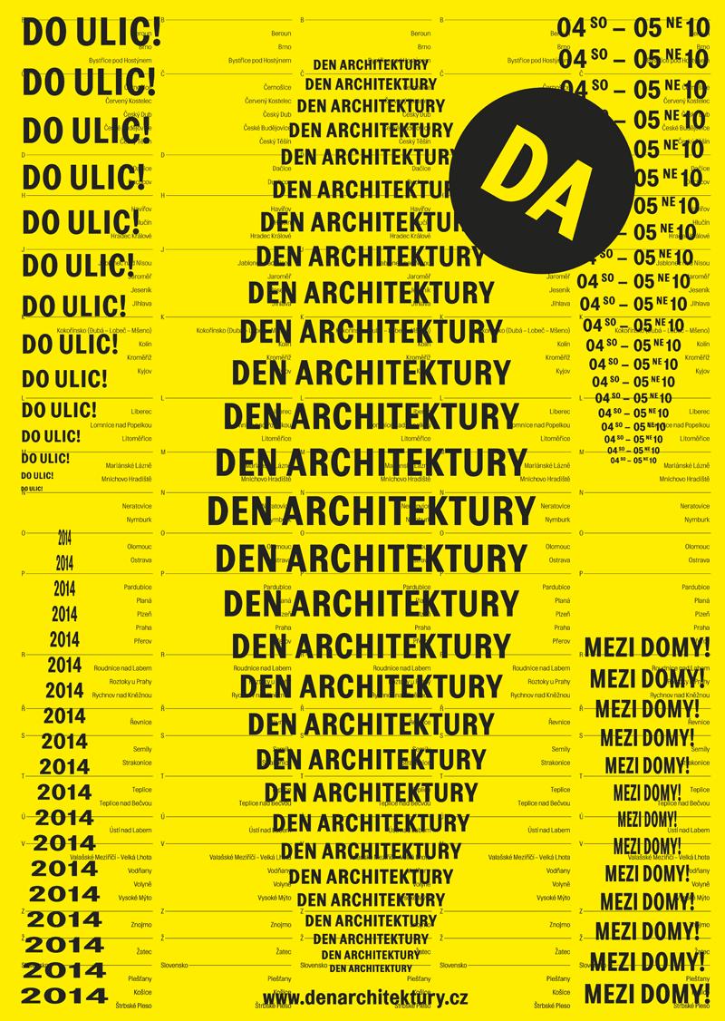 Den architektury Oficiální zdroj: NG Praha