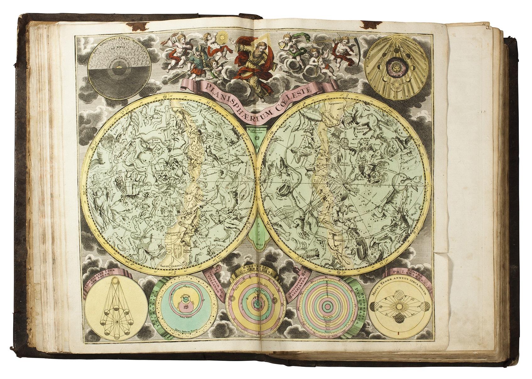 Atlas světa, 1710 - 1740, J. B. Homann Foto: archiv Dorotheum, oficiální zdroj
