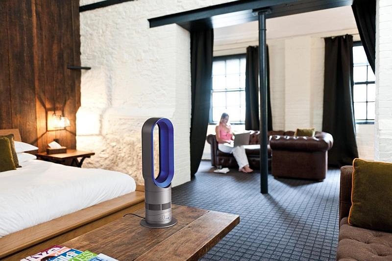 Sloupový ventilátor Dyson AM05 zahřeje i ochladí Foto: Dyson, oficiální zdroj