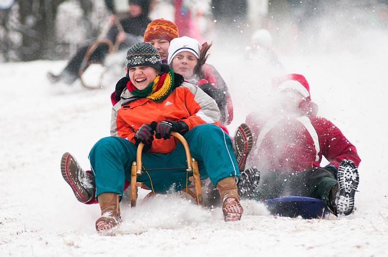 Zimní sporty fotoaparátem Nikon Foto: Nikon, oficiální zdroj