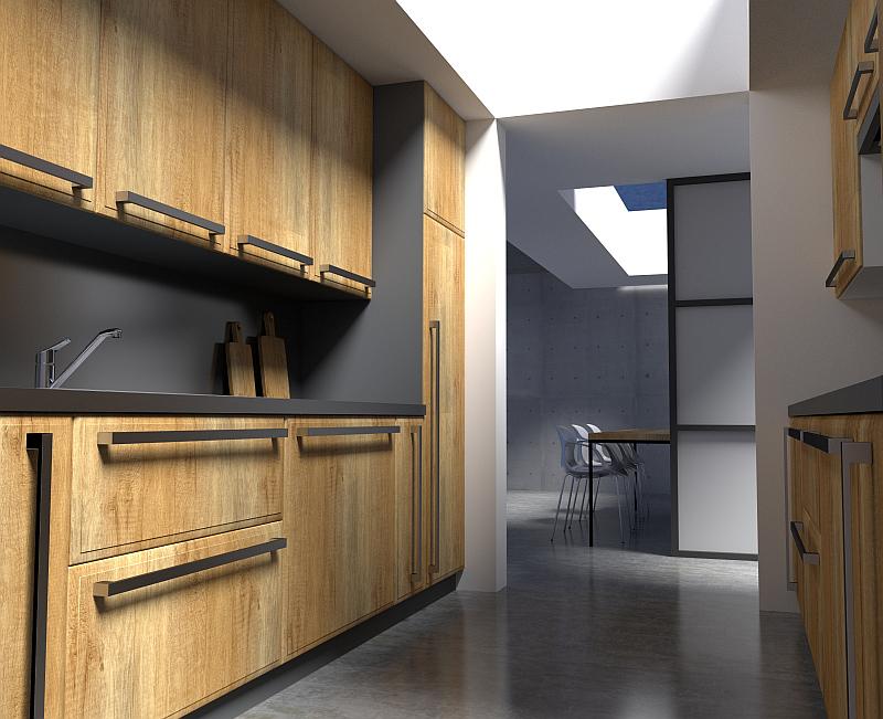 GRENA Kuchyňská dvířka: Tvar G 02 Dezén Dub Alberta Foto: GRENA, oficiální zdroj