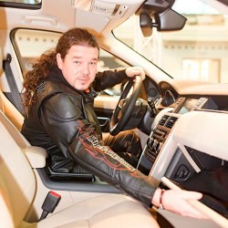 Land Rover Discovery Sport_za volantem Honza Toužimský