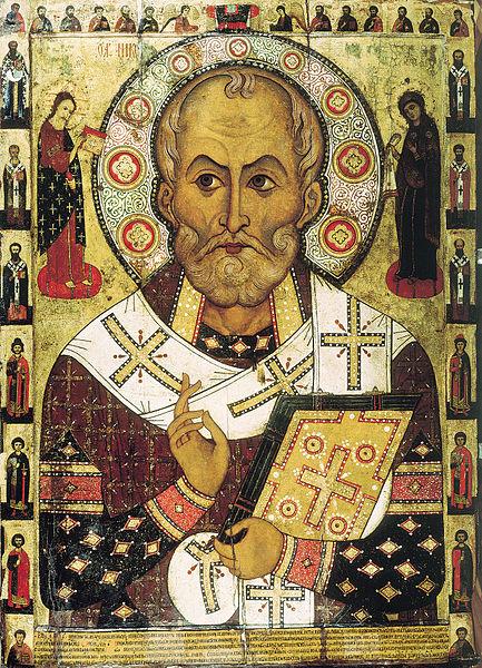 Svatý Mikuláš Foto: Aleksa Petrov, Wikimedia Commons
